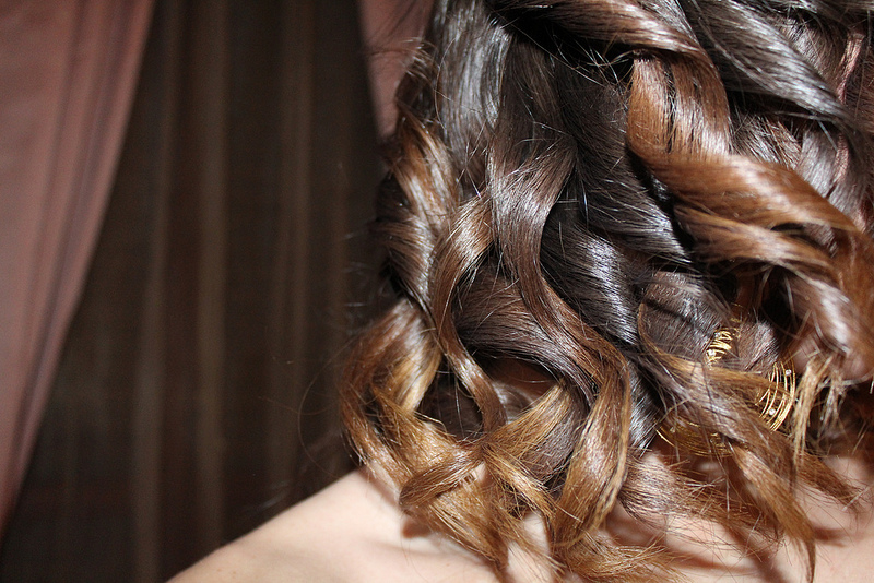 perfect curly hair