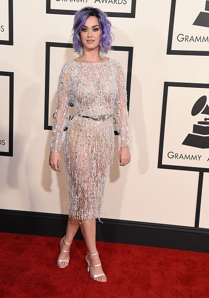 Katy Perry at the Grammy awards.