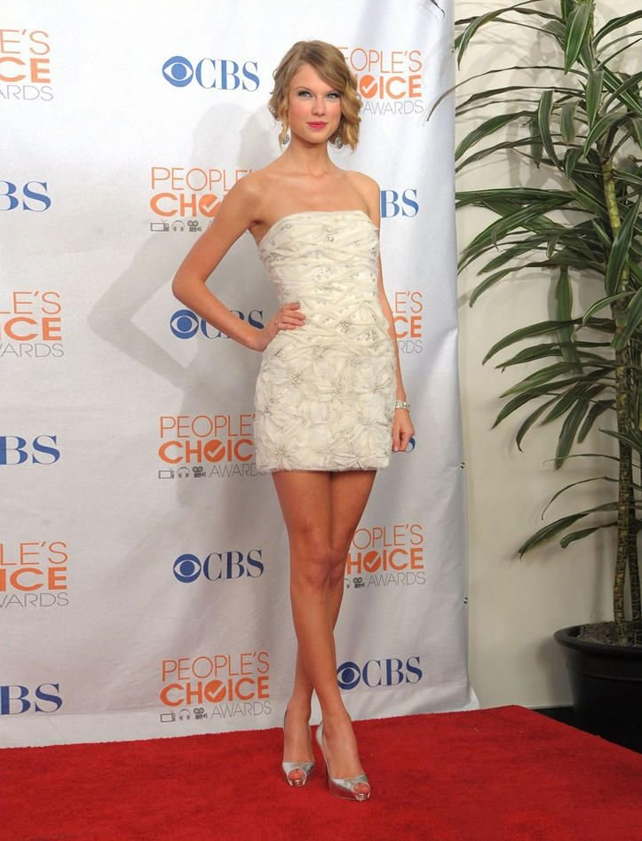 Free-shipping-taylor-swift-white-gorgeous-style-ruffle-beaded-mini-sheath-celebrity-red-carpet-formal-cocktail