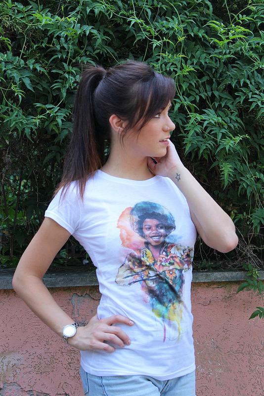 T-Shirt di MJ