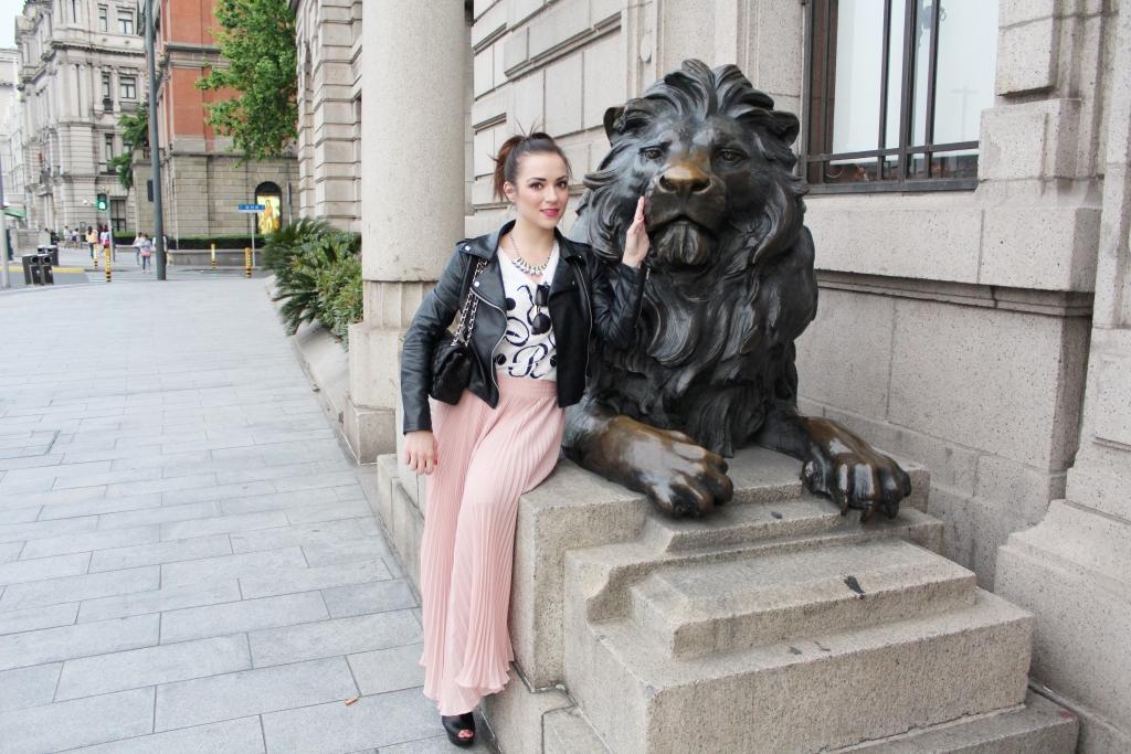 Lion in Shanghai