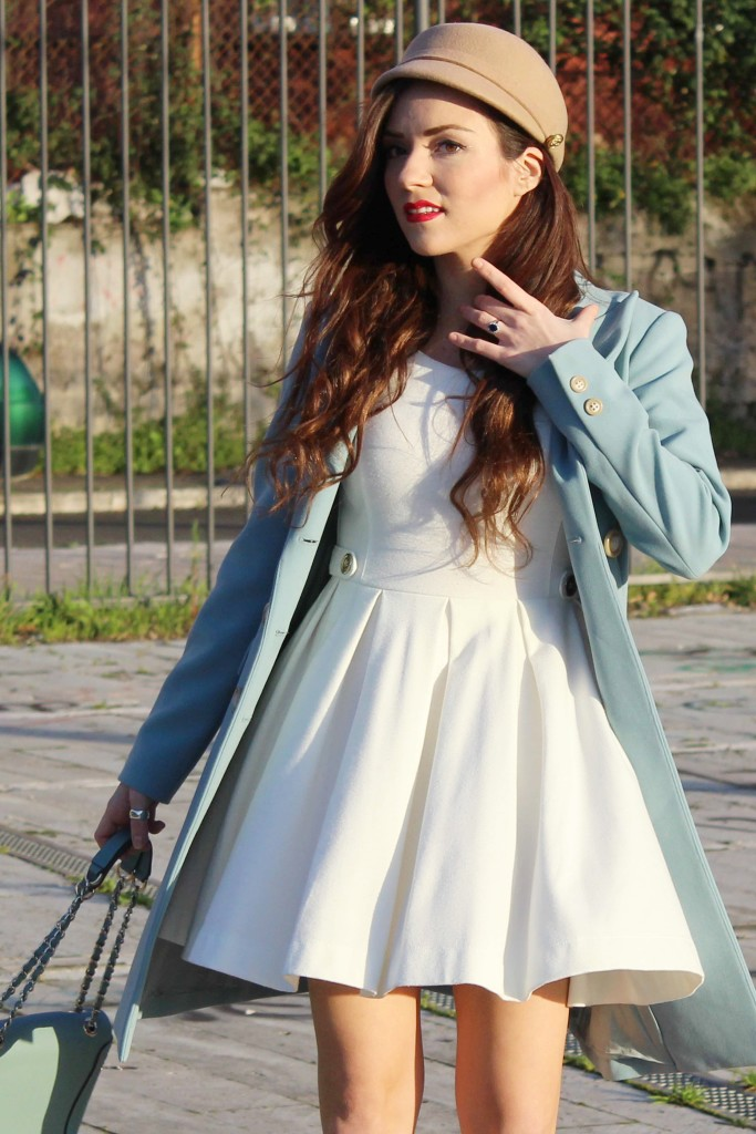 50's look fashion blog