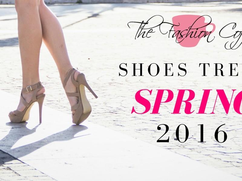 Moda Scarpe primavera 2016