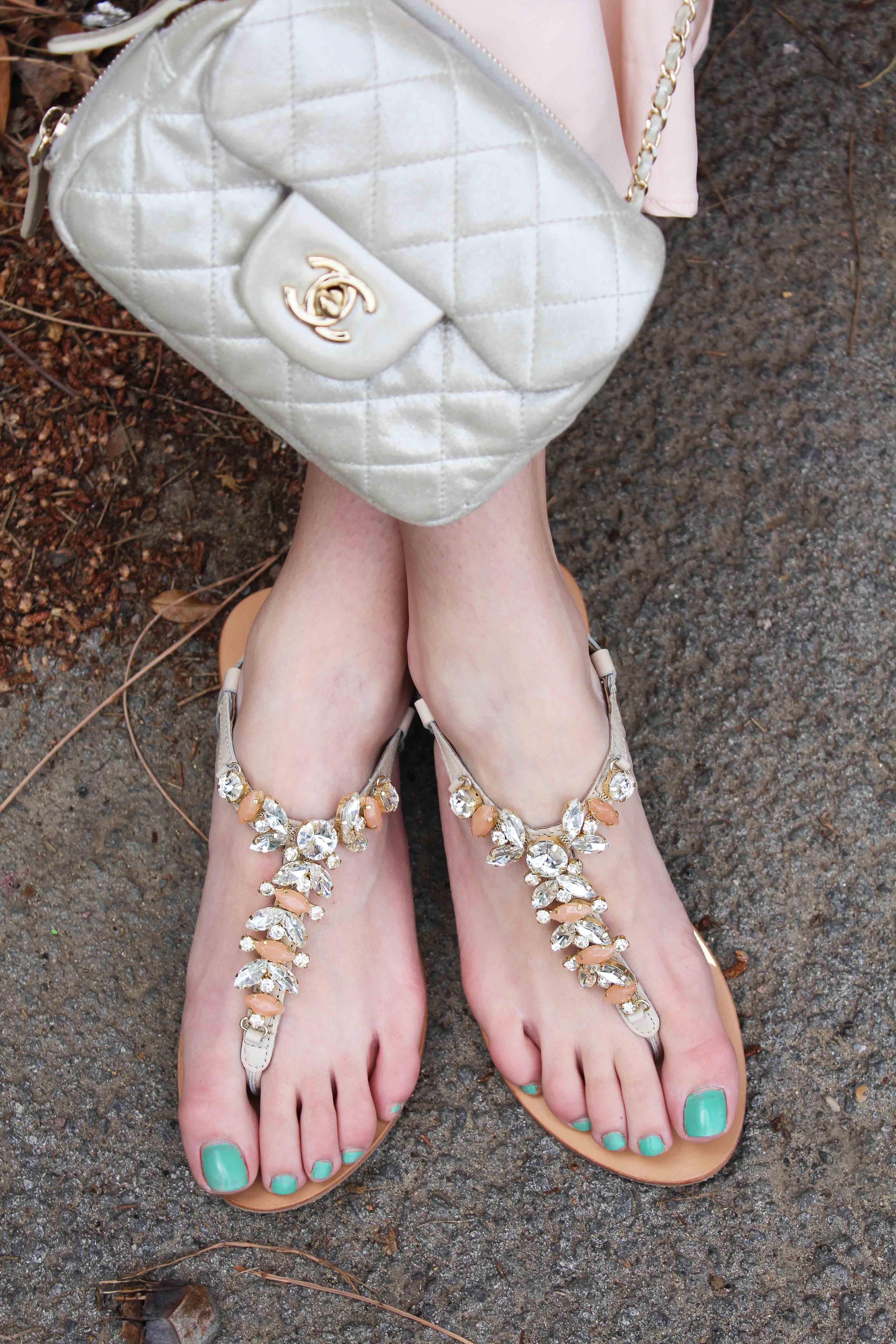 sandali gioiello come abbinarli
