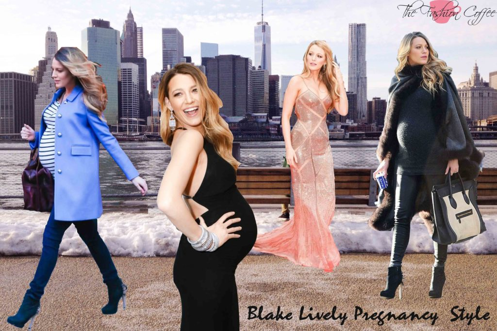 Blake Lively's Pregnancy Style
