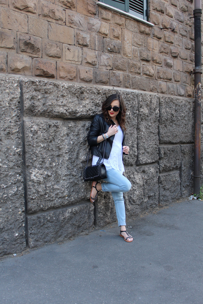 Rome fashion blogger