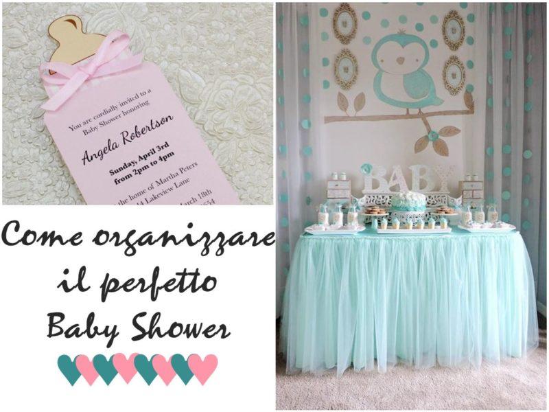 come organizzare il perfetto baby shower