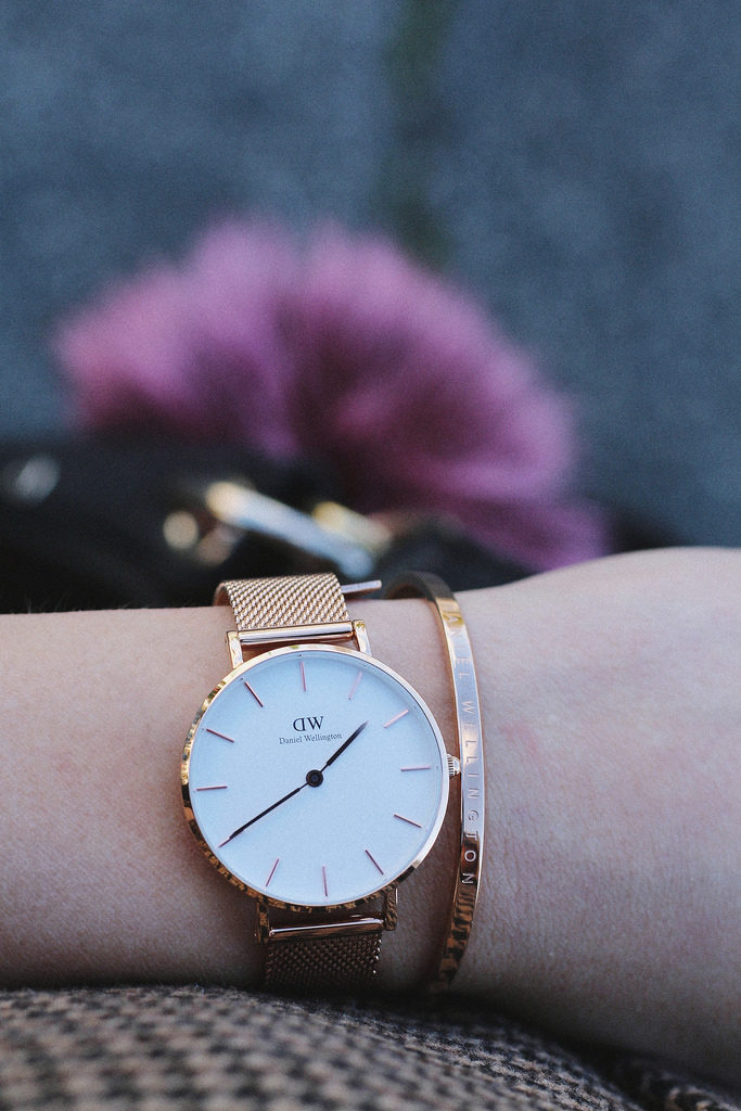 fashion blogger Daniel Wellington