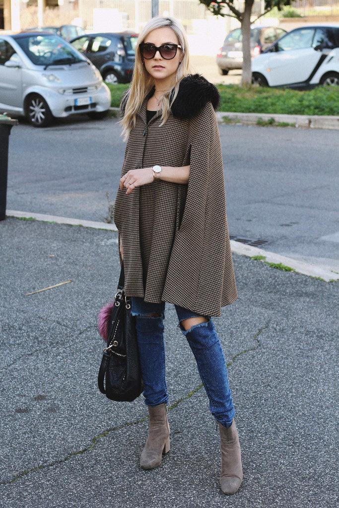 fashion blogger stampe quadretti