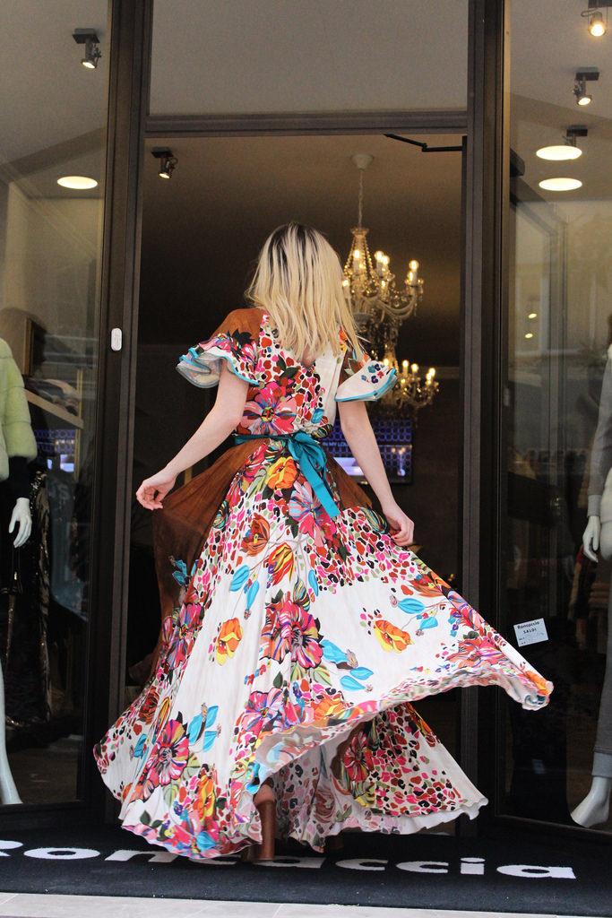 maxi abiti fashion blogger roma