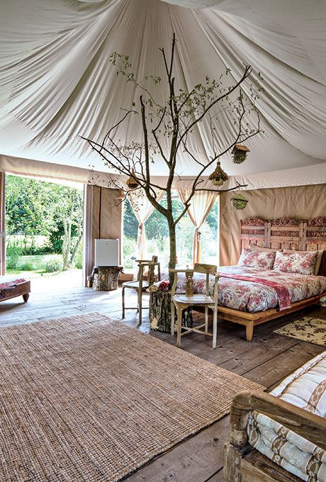 dove alloggiare glamping