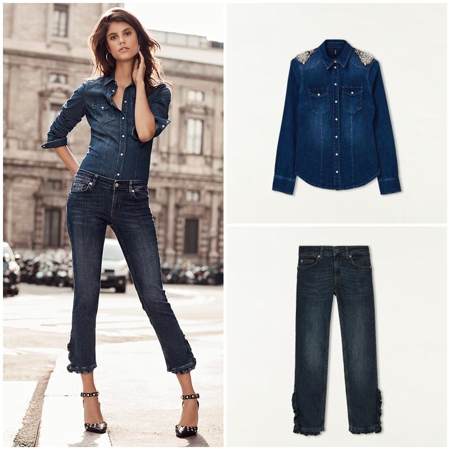 come indossare i jeans primavera estate 2018
