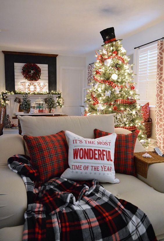 Come decorare casa albero di Natale