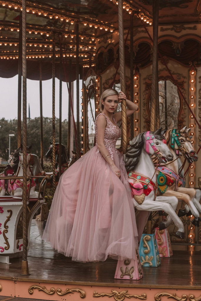 Carousel gown dress