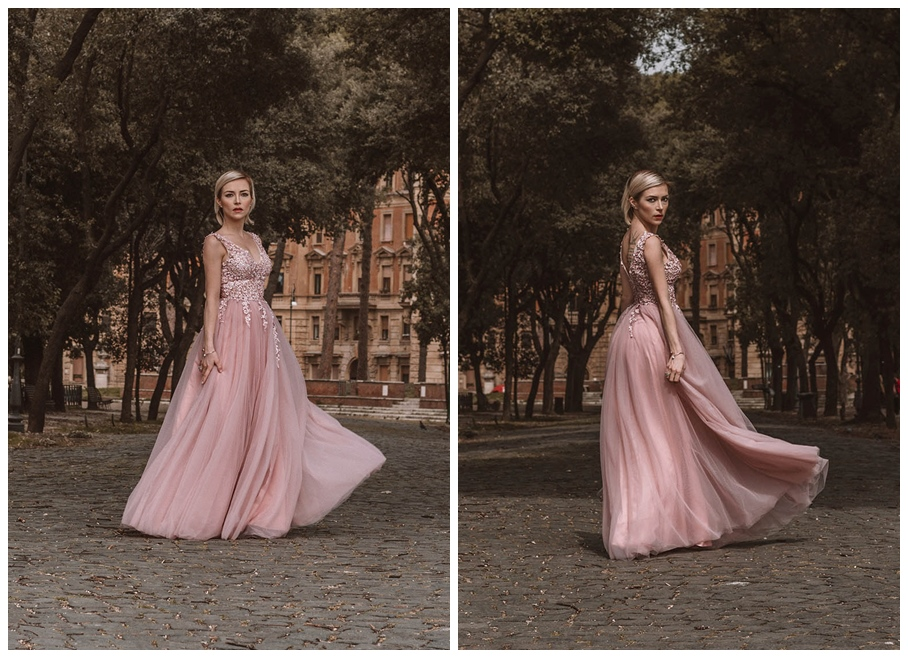 pink gown dress recensione bepeithy