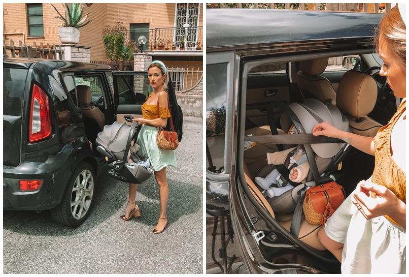 sicurezza auto seggiolino