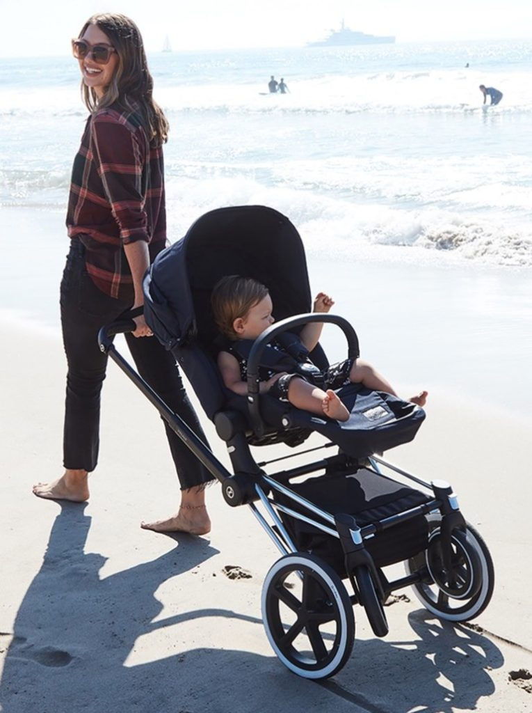 cybex priam passeggino spiaggia