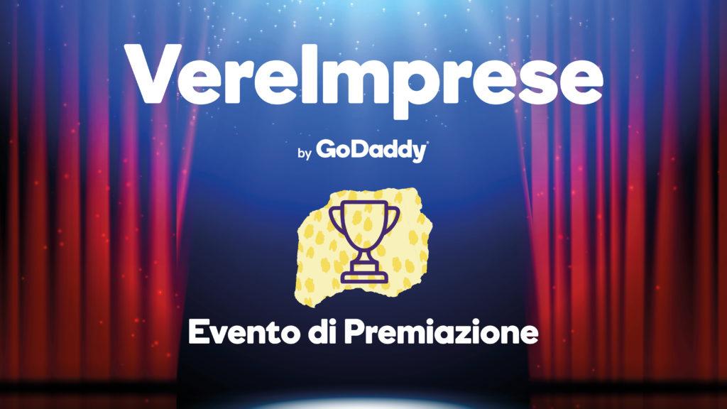 premiazione vereimprese godaddy award