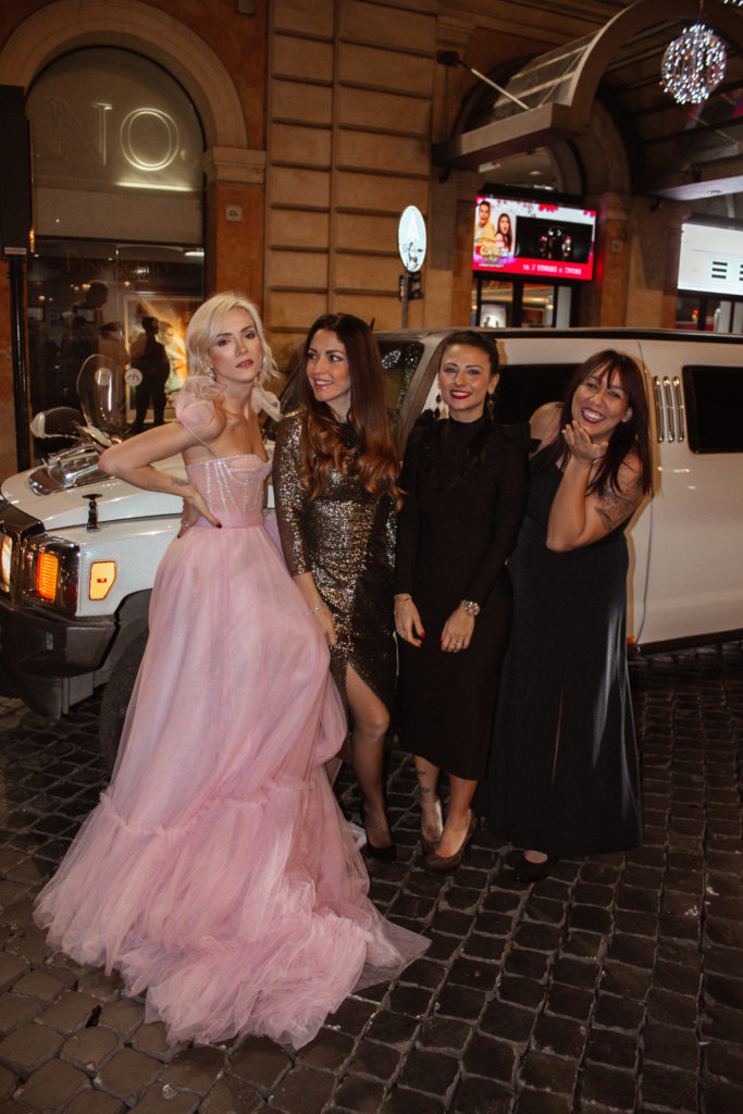 hummer limousine compleanno roma